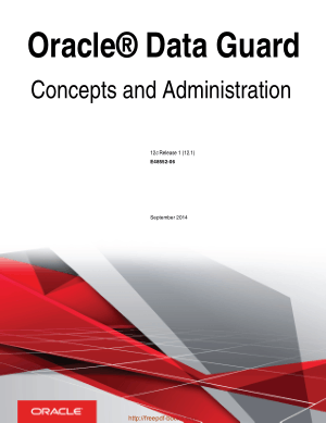 Oracle Database Guard Concepts And Administration