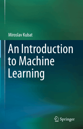 An Introduction to Machine Learning, Pdf Free Download