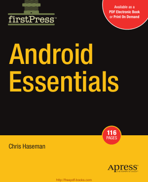 Android Essentials, Android Tutorial