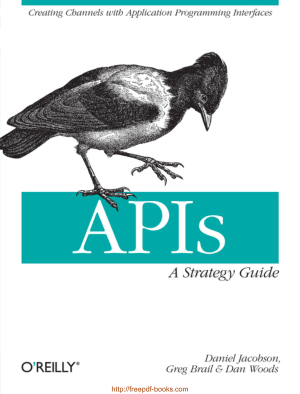 APIs A Strategy Guide, Pdf Free Download