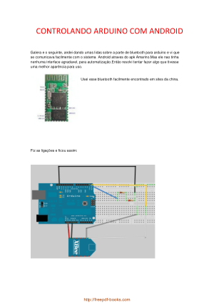 Arduino Android Bluetooth, Pdf Free Download