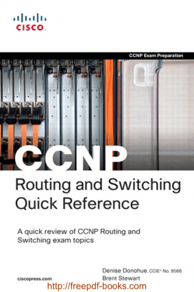 CCNP Routing and Switching Quick Reference Book, Pdf Free Download