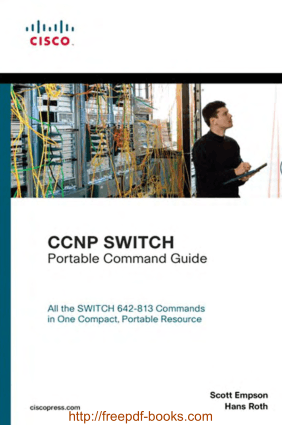 Free Download PDF Books, CCNP SWITCH Portable Command Guide, Pdf Free Download