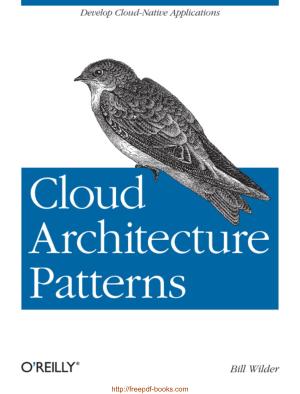 Cloud Architecture Patterns, Pdf Free Download