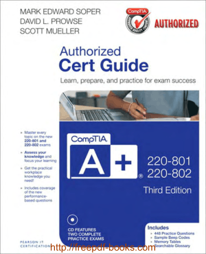 CompTIA Aplus 220-801 and 220-802 Cert Guide 3rd Edition Book
