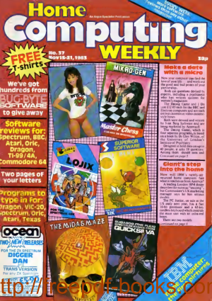 Home Computing Weekly Technology Magazine 037