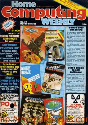 Home Computing Weekly Technology Magazine 038