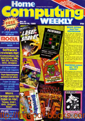 Home Computing Weekly Technology Magazine 041