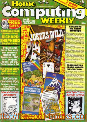 Home Computing Weekly Technology Magazine 042
