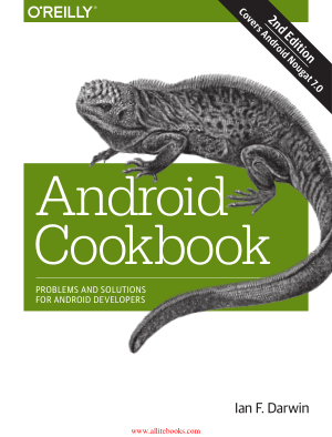 Android Cookbook 2nd Edition Book 2018 year