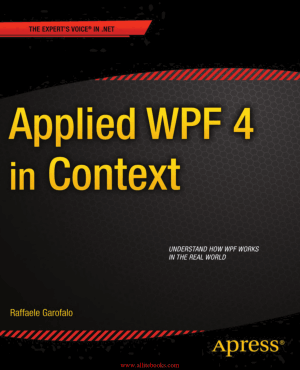 Applied WPF 4 in Context Book 2018 year