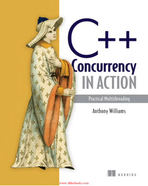 Free Download PDF Books, C++ Concurrency in Action 2nd Edition Book 2018 year