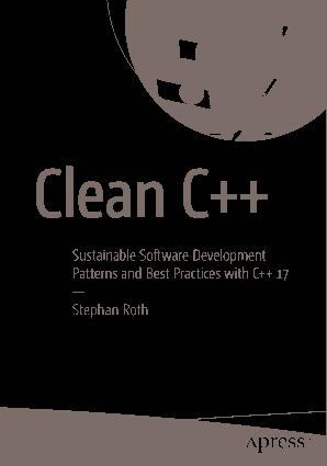 Free Download PDF Books, Clean C++ Software Development Book