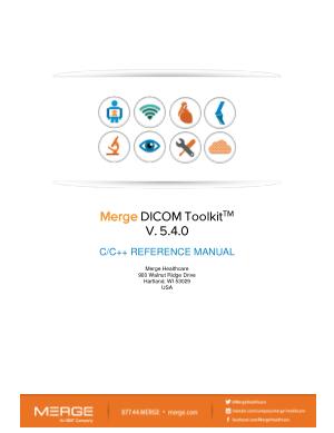 Free Download PDF Books, Merge DICOM Toolkit C C++ Reference Manual
