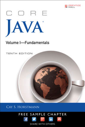 Core Java Volume-I Fundamentals Tenth Edition Book of 2016