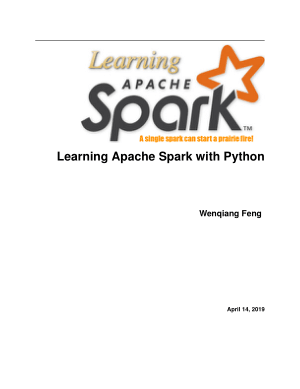 Free Download PDF Books, Learning Apache Spark with Python