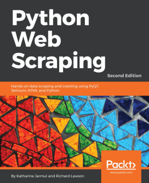 Python Web Scraping Second Edition Book of 2017