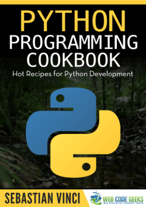 Free Download PDF Books, Python Programming Cookbook Hot Recipes for Python Development Book of 2016