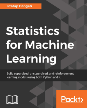Statistics for Machine Learning using both Python and R Book of 2017