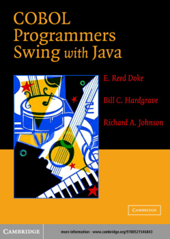 COBOL Programmers Swing with Java Second edition Book