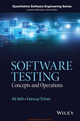 Software Testing – Concepts and Operations