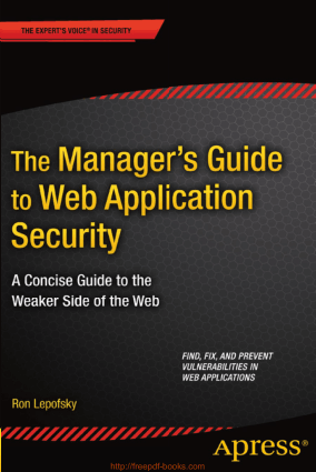 The Managers Guide to Web Application Security