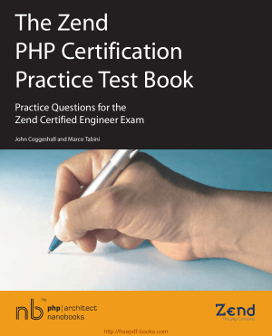 The Zend PHP Certification Practice Test Book TOC – Free Books Download PDF