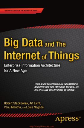 Big Data and The Internet of Things, Pdf Free Download
