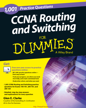 CCNA Routing and Switching Practice 1001 Questions For Dummies