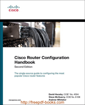 Cisco Router Configuration Handbook 2nd Edition – Networking Book