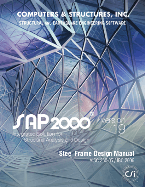 Steel Frame Design Manual SAP2000 PDF Engineering Book ...