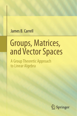Free Download PDF Books, Groups Matrices and Vector Spaces A Group Theoretic Approach to Linear Algebra