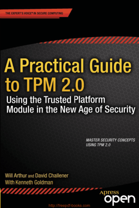 A Practical Guide to TPM 2.0, Pdf Free Download