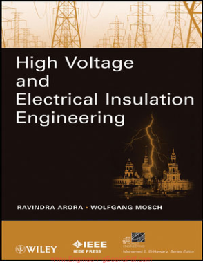 Free Download PDF Books, High Voltage and Electrical Insulation Engineering
