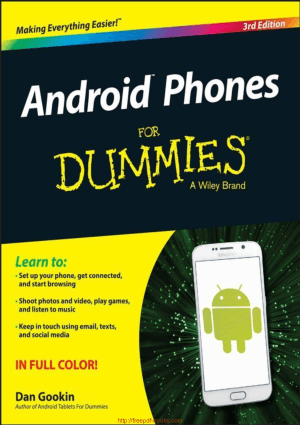 Android Phones For Dummies 3rd Edition, Android App Development Books