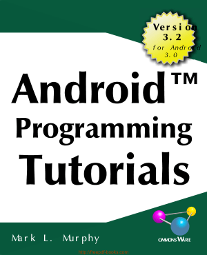 Android Programming Tutorials 3rd Edition, Android App Development Books