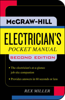 Free Download PDF Books, Electricians Pocket Manual 2nd Edition