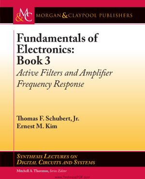Free Download PDF Books, Fundamentals of Electronics Book 3 Active Filters and Amplifier Frequency Response