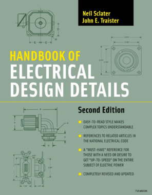 Free Download PDF Books, Handbook of Electrical Design Details 2nd Edition