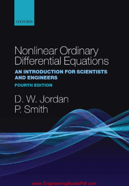 Free Download PDF Books, Nonlinear Ordinary Differential Equations An introduction for Scientists and Engineers 4th Edition