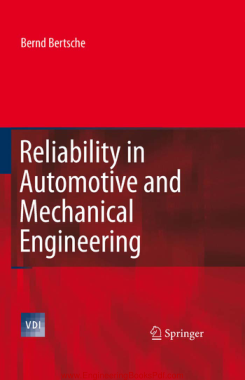 Free Download PDF Books, Reliability in Automotive and Mechanical Engineering
