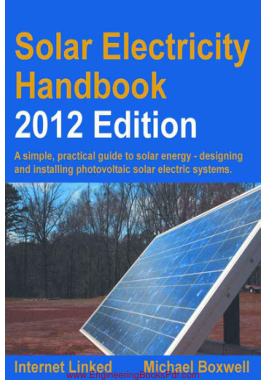 Free Download PDF Books, Solar Electricity Handbook 2012 Edition
