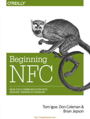 Free Download PDF Books, Beginning NFC – Introduction to Arduino and NFC, Pdf Free Download