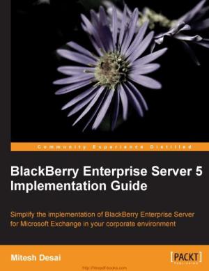 Free Download PDF Books, BlackBerry Enterprise Server 5 Implementation Guide, Pdf Free Download