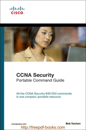 CCNA Security Portable Command Guide, Pdf Free Download