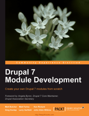 Free Download PDF Books, Drupal 7 Module Development