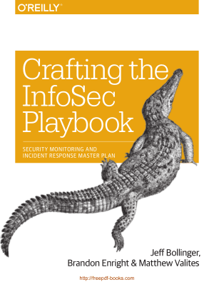 Crafting the InfoSec Playbook – Networking Book