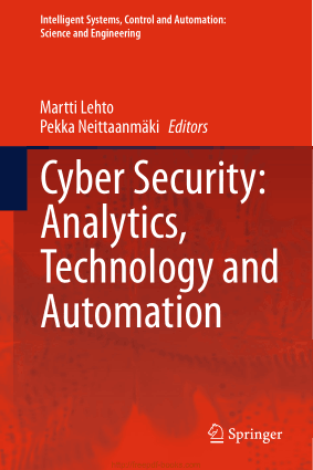 Cyber Security – Analytics Technology and Automation
