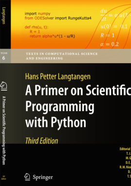 Free Download PDF Books, A Primer On Scientific Programming With Python 3rd Edition