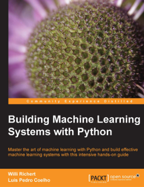 Free Download PDF Books, Building Machine Learning Systems with Python